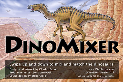 DinoMixer iPhone app